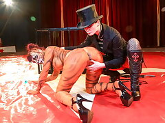 FORBONDAGE Hot Femdom Circus With Leah Obscure & Alissa Noir