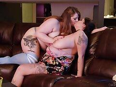 BBW sluts share lesbian scenes everywhere mutual XXX tryout