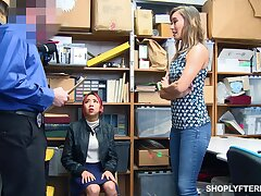 Sexy mommy Christy Love gets punished instead be useful to her stepdaughter