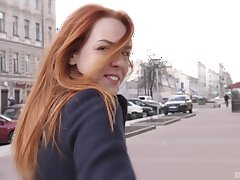 Terrifying fucking with cute Russian girlfriend Bon-bons Red