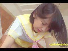 Cute Teen Jav Amateur Nana Shoves The Guys Cock In Her Shaved Schoolgirl Pussy Cute Student