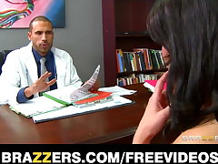 Brazzers - Big-tit sex addict Charley Chase rides her doctor