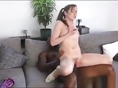 Incomparable Teen Kasey Appetizer Drilled By Big Black Cock