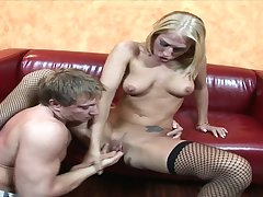 Hot fitness MILF In Stockings Dionne Crazy Hardcore Lovemaking Video