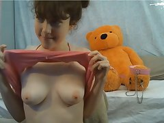 Magnificent Young Babe Quarters Made Amateur Porn 18-Years-Old naked on webcam