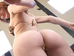 Superb solo and nude posing from a perfect wife